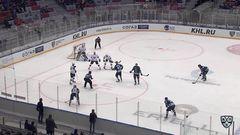 Гол. 1:0. Морозов Егор (ХК Сочи) открывает счет матча в большинстве