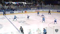 Гол. 2:0. Шалунов Максим (Сибирь) оформляет дубль, забросив шайбу в ворота соперника