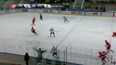 Гол. 0:1. Майк Глумак (Медвешчак) распечатал ворота москвичей