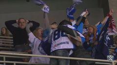 Гол. 0:3. Никита Комаров (Динамо Мн) поразил ворота хозяев