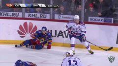 Гол. 1:2. Илья Ковальчук (СКА) классно бросил впритирку со штангой