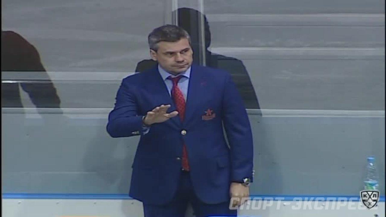 Северсталь - ЦСКА. Лучшие моменты первого периода