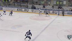 Гол. 0:1. Никита Комаров (Динамо) открыл счёт в матче