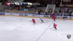 Удаление. Томаш Копецки (Слован) получил 2 минуты за неправильную атаку