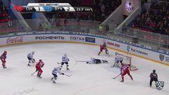 Гол. 2:2. Ничушкин Валерий (ЦСКА) сравнивает счет матча