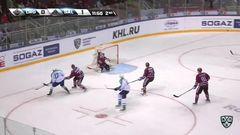 Гол. 0:2. Капризов Кирилл (Салават Юлаев) увеличивает преимущество в счете