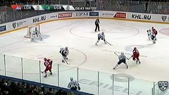 Гол. 1:0. Контиола Петри (Локомотив) открывает счет матча