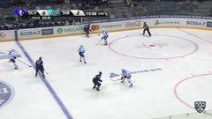 Удаление. Меньшиков Виталий (Сибирь) удален на 2 минуты за атаку игрока, не владеющего шайбой