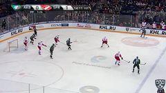 Гол. 1:1. Попов Андрей (Ак Барс) сравнивает счет матча в болшинстве