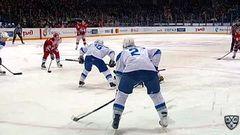 Гол. 2:0. Тальбо Максим (Локомотив) увеличивает преимущество в счете в большинстве