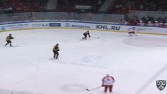 Гол. 0:1. Денис Абдуллин (Витязь) открыл счёт в матче