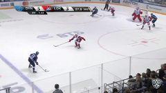 Гол. 6:3. Алексей Цветков (Динамо) поставил победную точку в матче