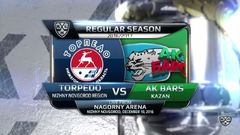 Торпедо - Ак Барс 2:0