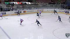 Удаление. Соколов Константин (Югра) удален на 2 минуты за атаку игрока, не владеющего шайбой