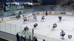 Удаление. Краснослободцев Вадим (Адмирал) за атаку игрока не владеющего шайбой.