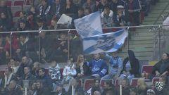 Гол. 1:0. Ткачёв Владимир (Адмирал) открывает счет матча