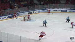 Гол. 1:0. Вовченко Даниил (Северсталь) открывает счет матча