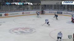 Удаление. Барбашев Сергей (Адмирал) за атаку игрока не владеющего шайбой.