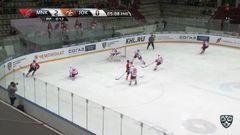 Гол. 3:0. Васильченко Алексей (Металлург Нк) в домик вратарю