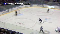 Гол. 1:0. Михал Глинка (Слован) открыл счёт в матче