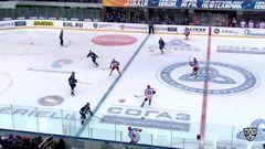 Гол. 0:1. Джефф Плэтт (ЦСКА) завершил точным броском многоходовку армейцев