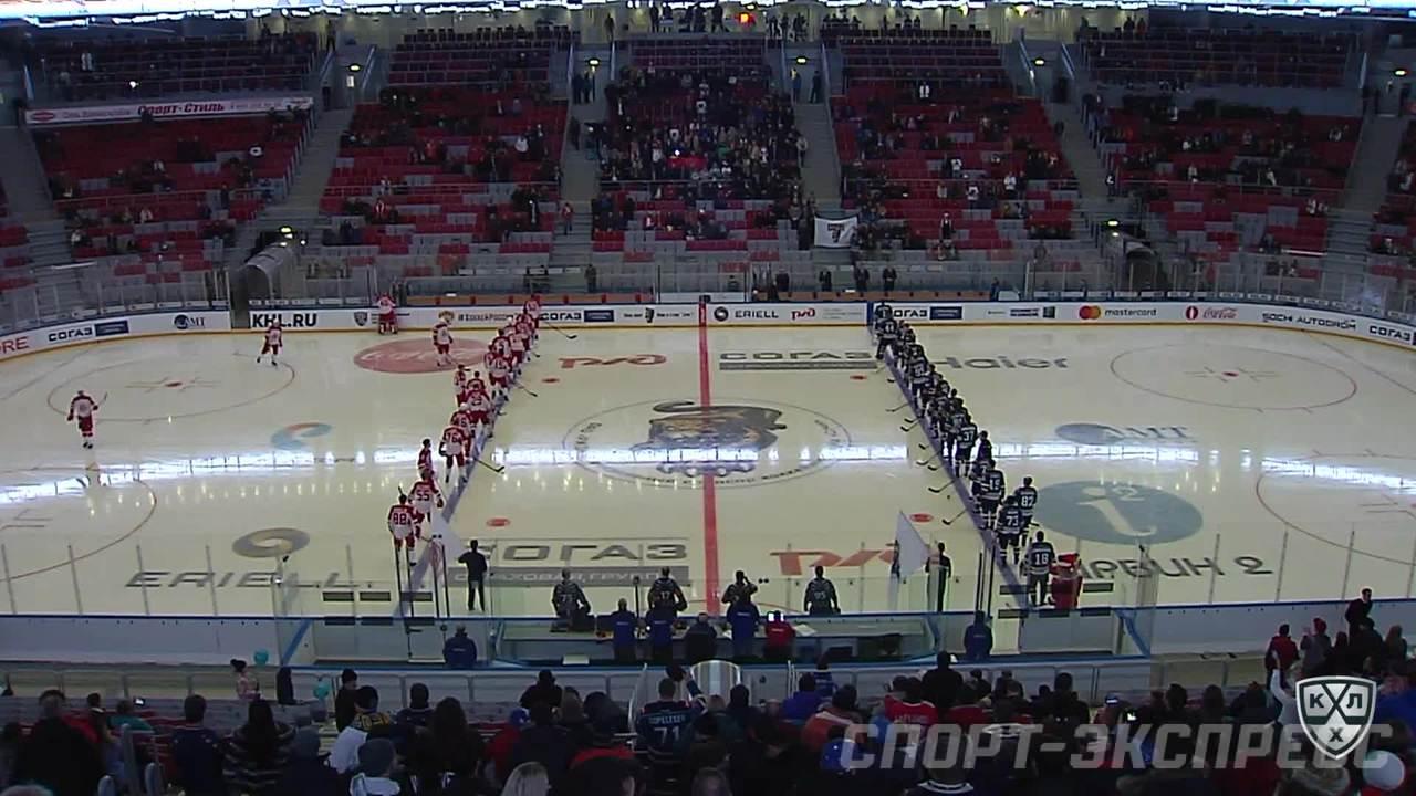 ХК Сочи - Витязь. Лучшие моменты матча