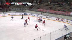 Гол. 0:2. Редлихс Кришьянис (Динамо Р) от синей в угол