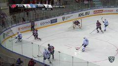 Гол. 0:1. Павлович Александр (Динамо Мн) затолкал шайбу с пятака