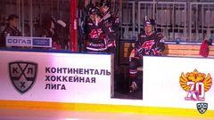 Авангард - Динамо Мн. Лучшие моменты первого периода