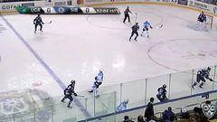 Гол. 0:1. Артюхин Евгений (Сибирь) открывает счет матча