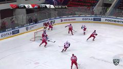 Удаление. Михаил Пашнин (Локомотив) получил 5+20 минут