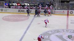 Гол. 1:0. Томаш Сурови (Слован) здорово приложился по шайбе