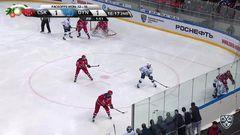 Удаление. Ермаков Андрей (ЦСКА) за выброс шайбы удален на 2 минуты