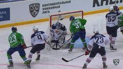 Салават Юлаев - Металлург Мг. Лучшие моменты второго периода