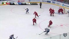 Удаление. Евгений Катичев (Витязь) удалён на 2 минуты за удар коленом