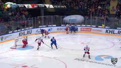 Гол. 1:2. Илья Ковальчук (СКА) сократил отставание до минимума
