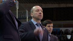 Сибирь - Динамо Мск. Лучшие моменты первого периода