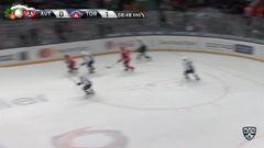 Удаление. Сёмин Дмитрий  (Торпедо) удален на 2+10 минут за атаку в область головы и шеи