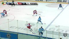 Гол. 1:0. Контантин Окулов (Сибирь) открыл счёт в матче