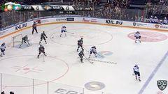 Гол. 0:1. Сергей Мозякин (Металлург) открыл счёт, отличившись в большинстве