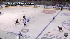 Гол. 0:1. Вячеслав Войнов (СКА) открыл счёт, отличившись в большинстве