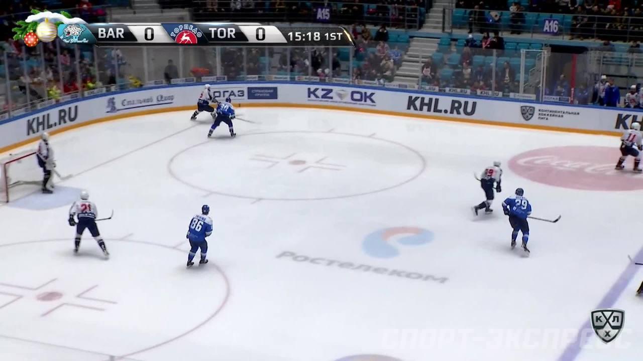Гол. 0:1. Осипов Максим (Торпедо) открывает счет матча