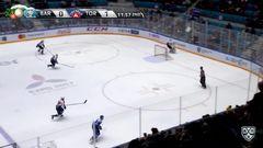 Удаление. Пушкарёв Константин (Барыс) удален на 2 минуты за атаку игрока, не владеющего шайбой