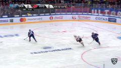 Гол. 1:0. Плотников Сергей (СКА) открывает счет матча в большинстве