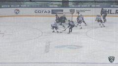 Гол. 0:1. Толузаков Филипп (Динамо Р) открывает счет матча в большинстве