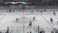 Удаление. Павлов Виталий (Динамо Р) удален на 2 минуты за подножку