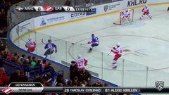 Гол. 0:1. Шмелёв Сергей (Спартак) открывает счет матча