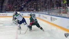 Ак Барс - Салават Юлаев. Лучшие моменты матча