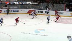 Опасный момент. Аверин Егор (Локомотив) выскочил 1 в 0 и зарядил в штангу