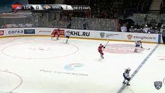 Гол. 1:1. Кадейкин Александр (Локомотив) по центру
